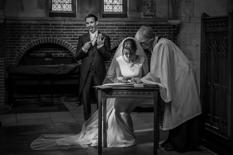 Church Wedding by Steve Kentish