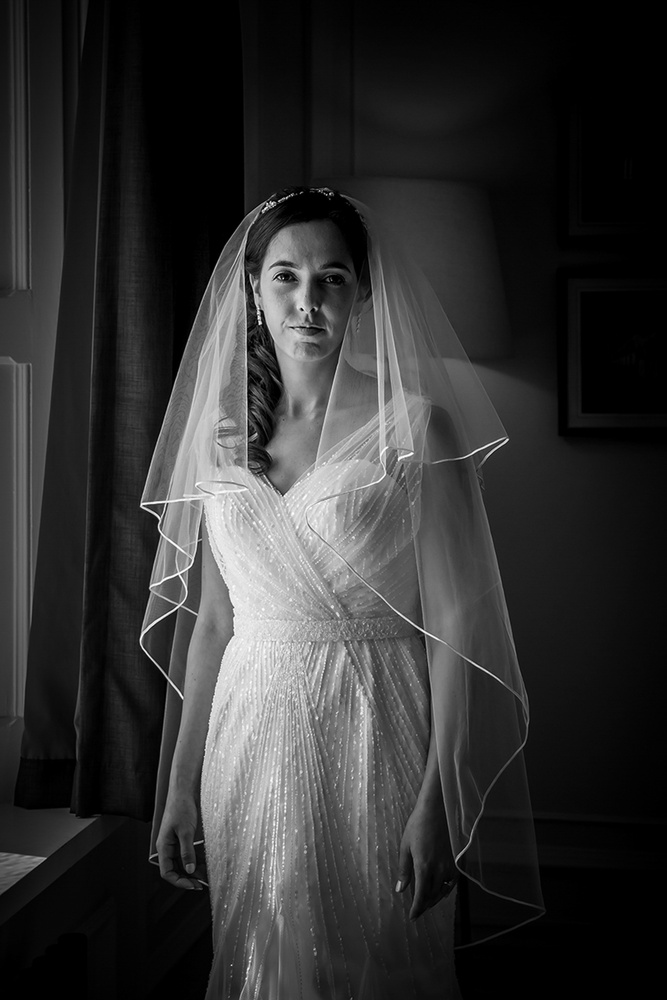 Bride before ceremony by Steve Kentish