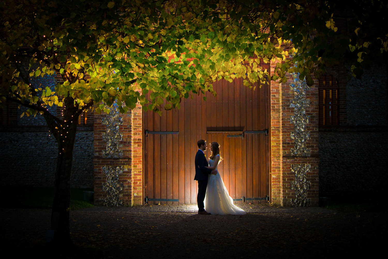 Autumn Barn Wedding by Steve Kentish