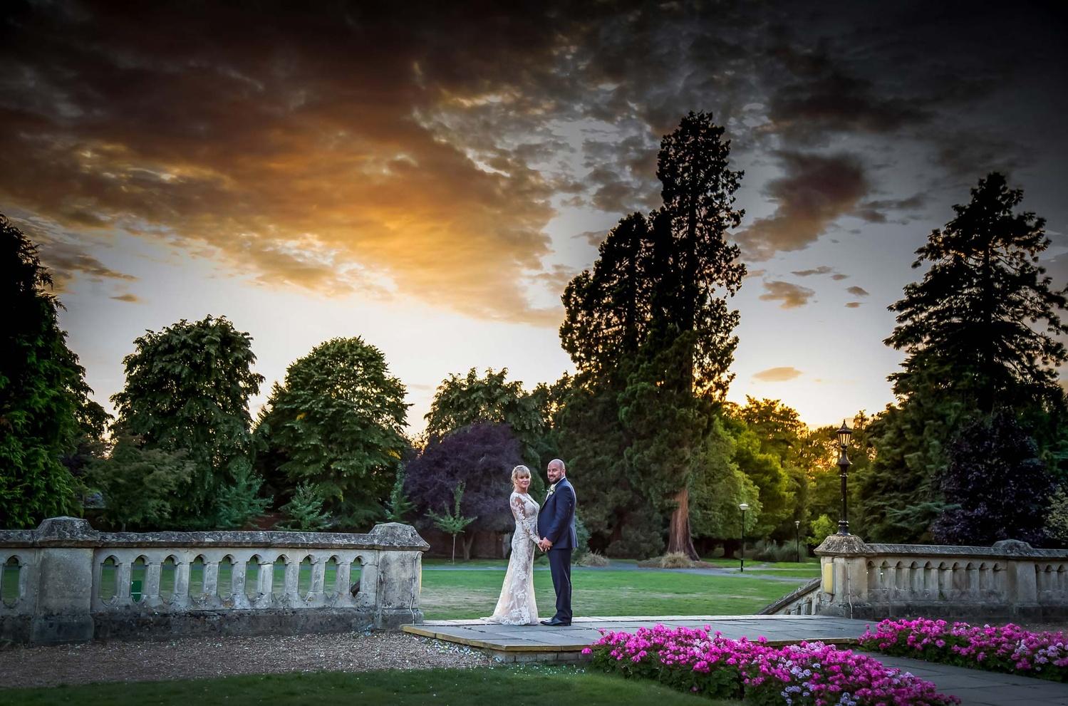 Wedding Sunset by Steve Kentish
