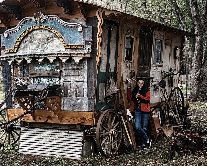 Gypsy Wagon by William Waterbury Jr.