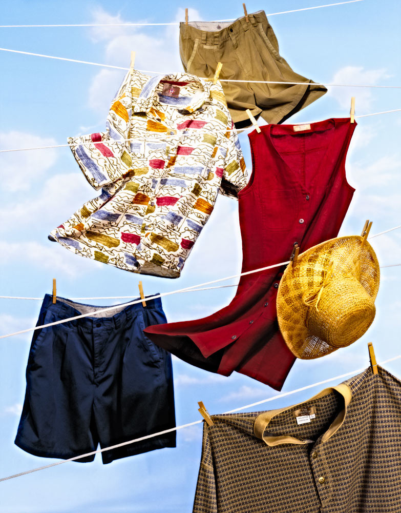 Cloths in the Breeze by William Waterbury Jr.