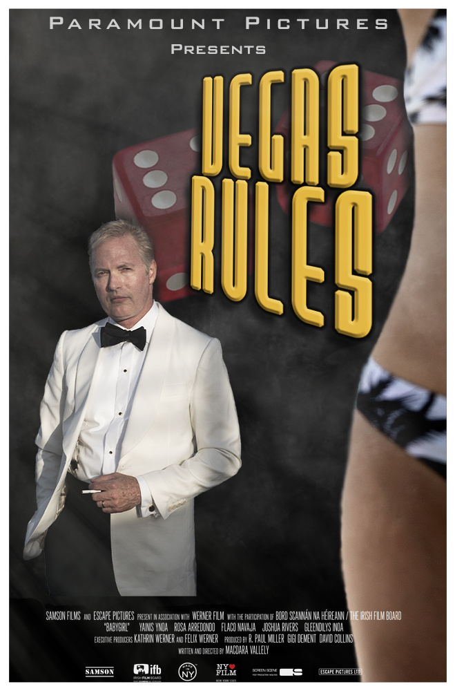 Vegas Rules Movie Poster (Concept, Composite) by Stan Banash
