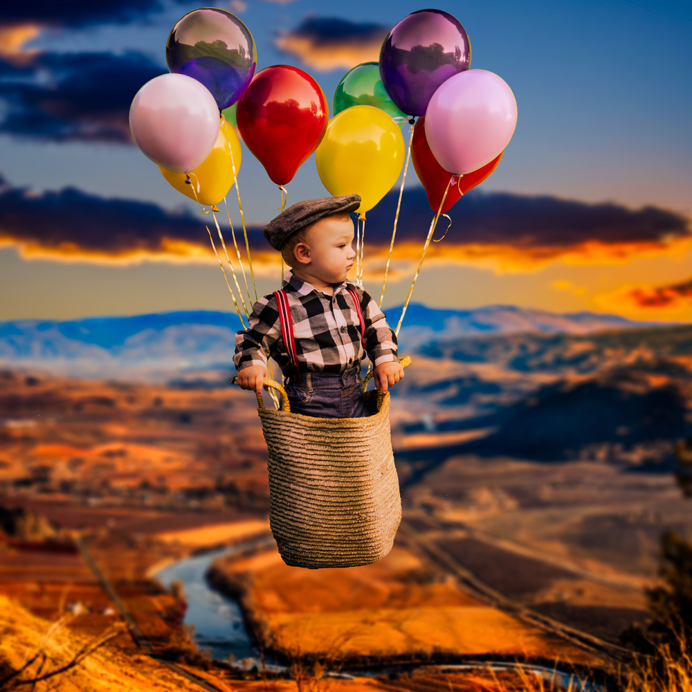 Balloon Ride by Gene Wick