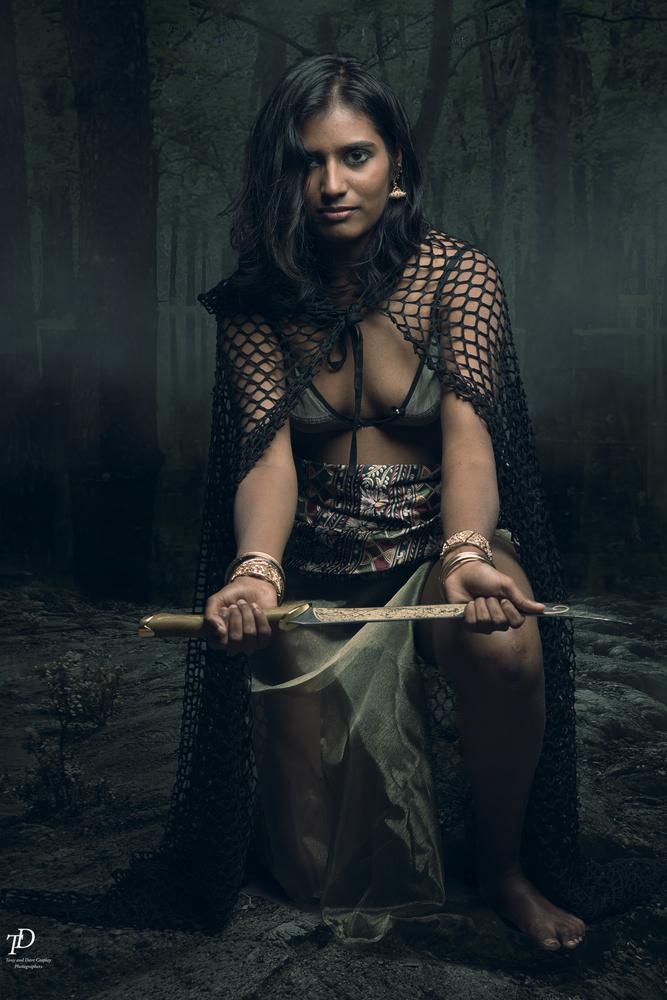 warrior princess by Tony Oliver