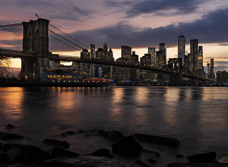 Brooklyn Bridge, New York by Tomi Sur