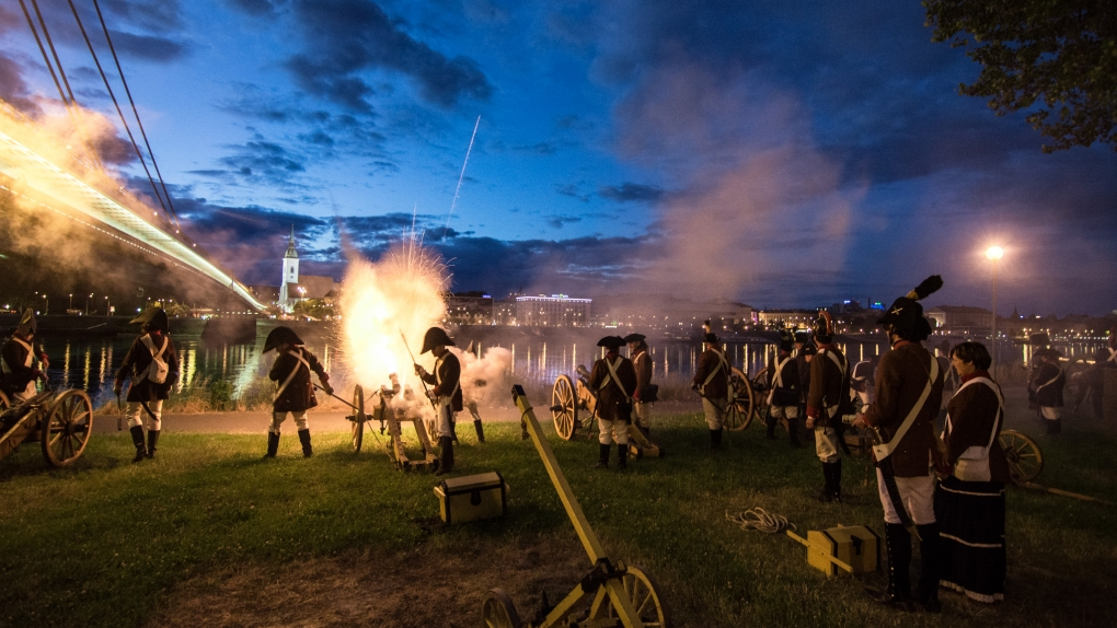 205th Anniversary of Siege of Bratislava by Michal Lukáč