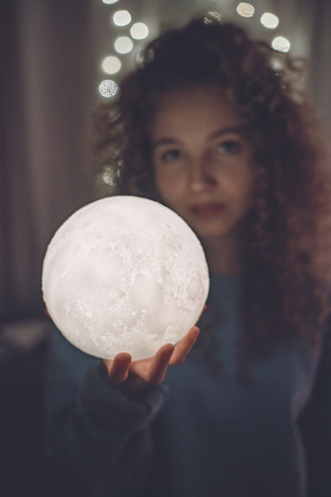 Moon grab by Adam Hansen