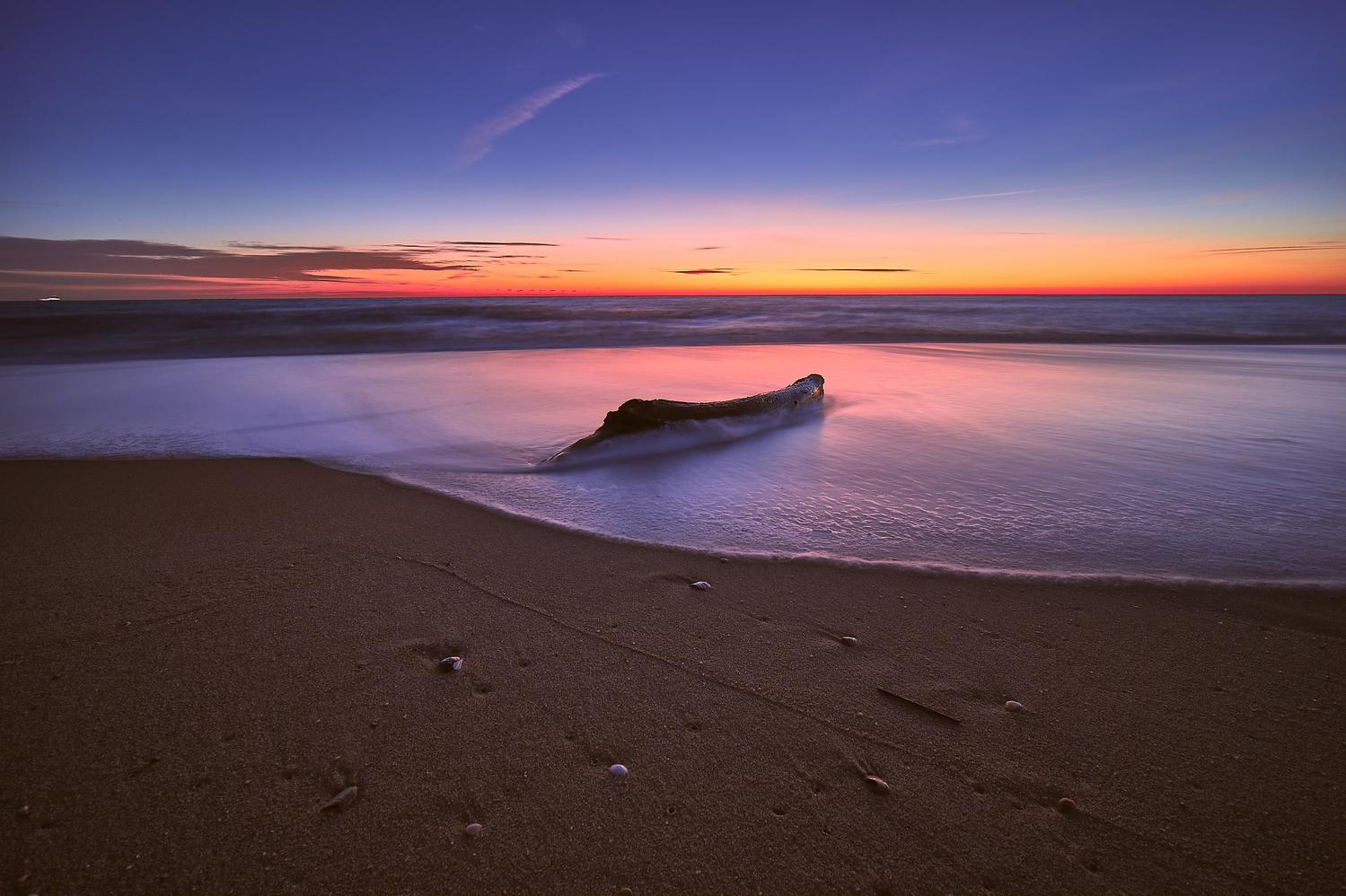 Sunrise at Sea by Jacob Roames
