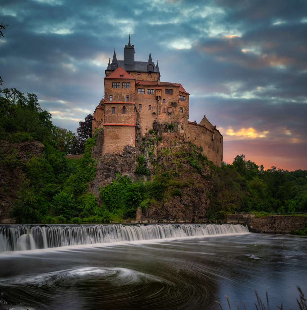 Castle Kriebstein by Carsten Kempa
