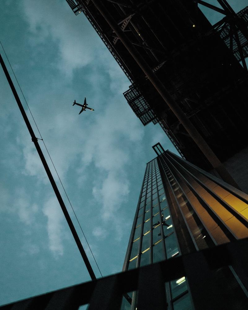Passengers above by Bruno Mira