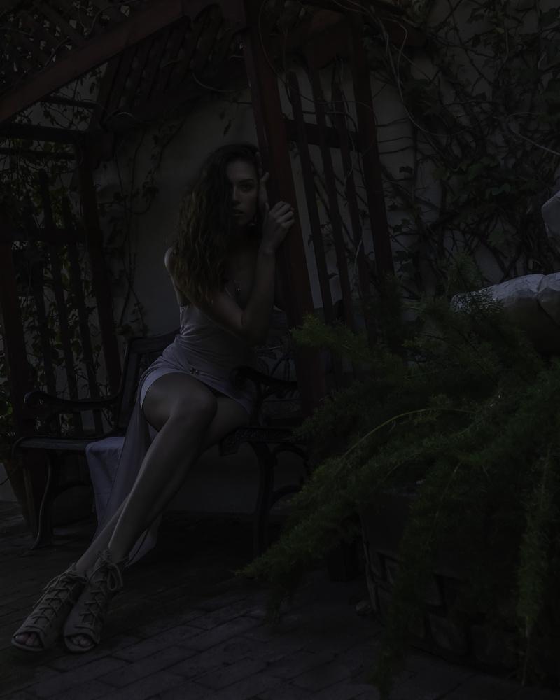 Eery Garden by sam steffanina