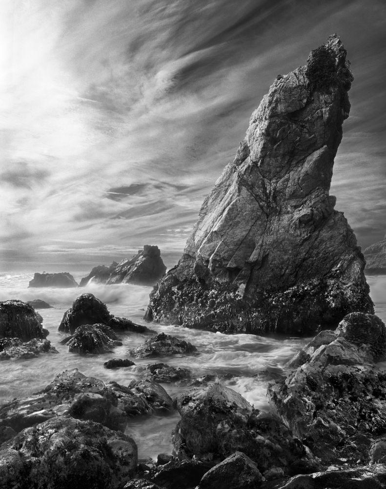 Beach Monolith by Marty Quinn