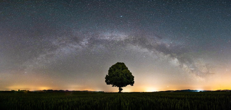 Milkyway panorama by Danijel Turnšek
