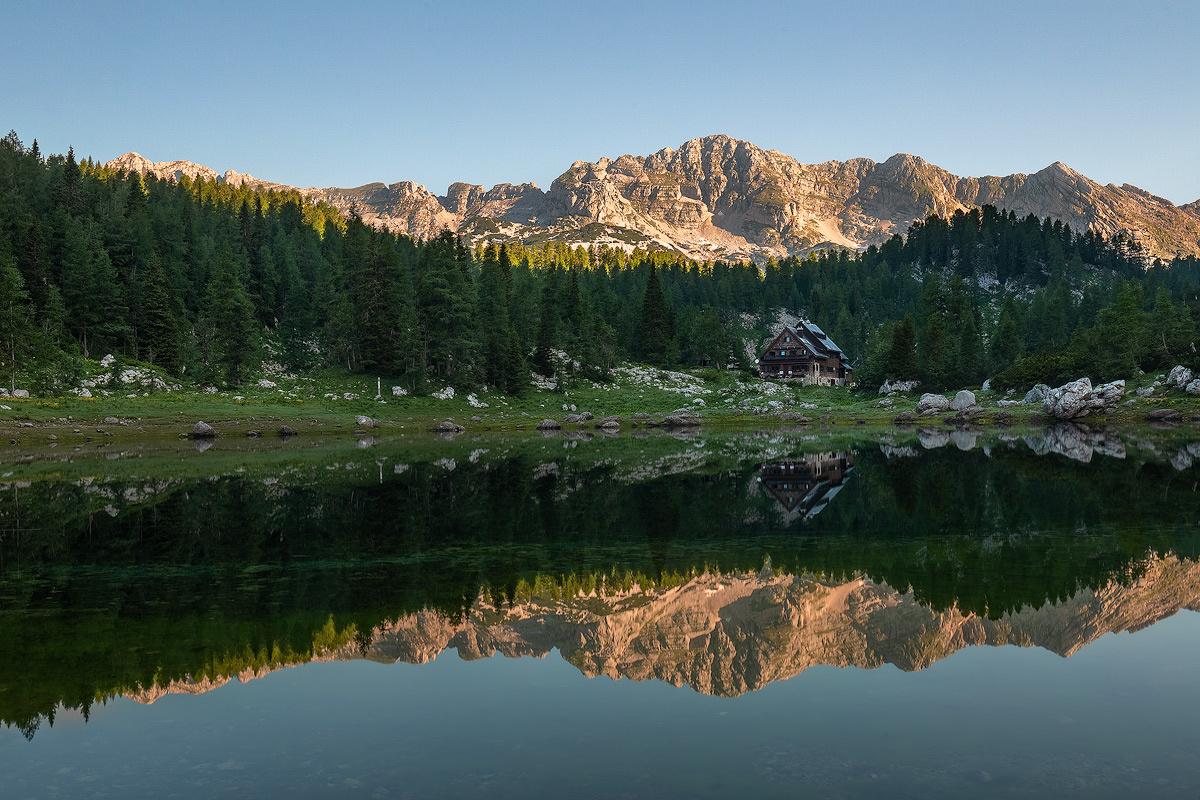 Hut at Triglav Lakes by Danijel Turnšek