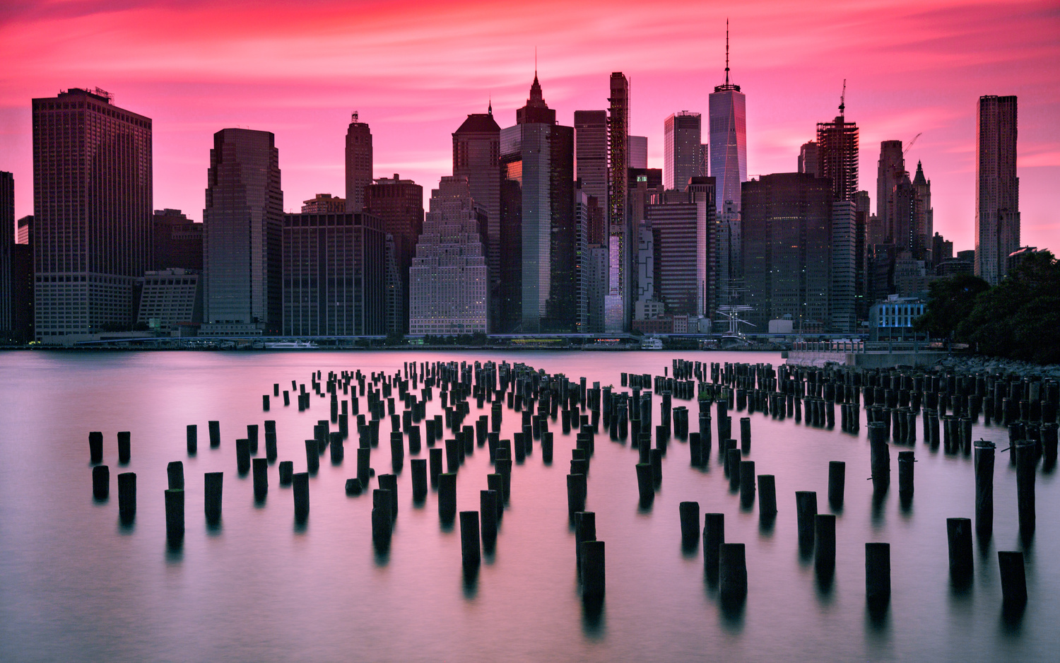 Evening in Manhattan by Viren Nathan