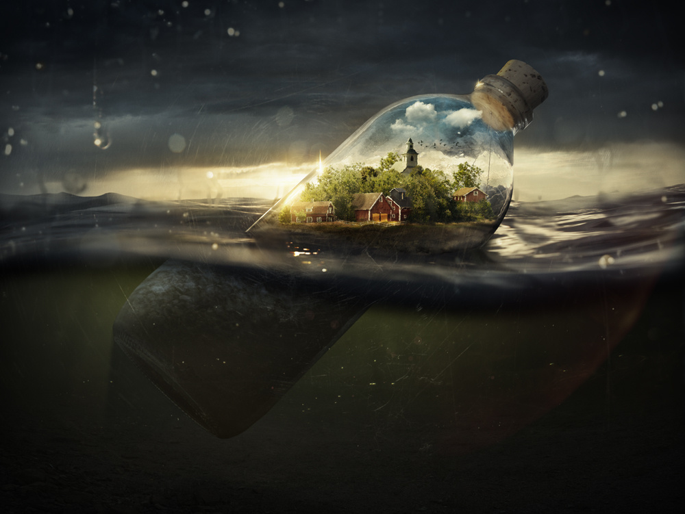 Drifting Away by Erik Johansson