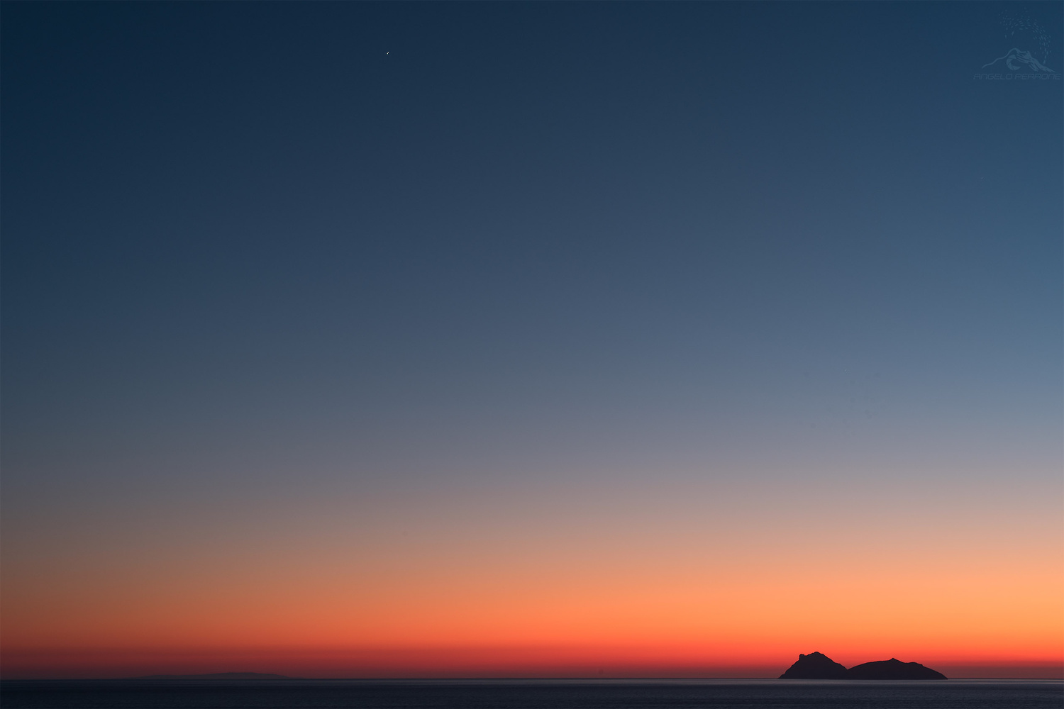 The Sunset of Jupiter by ANGELO PERRONE