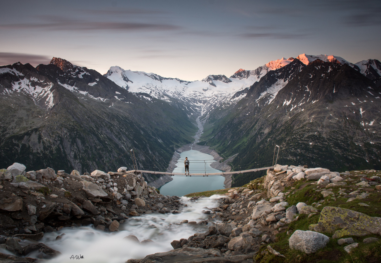 Once upon a time in Tirol by Aleksandra Wilk