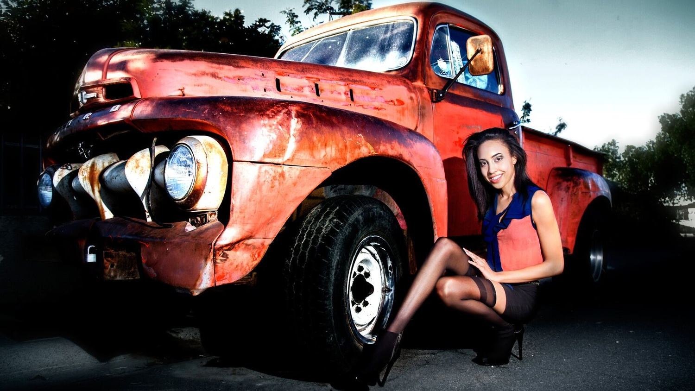 "Big Truck, Tiny Lady by C.R. ""Kroy"" B"