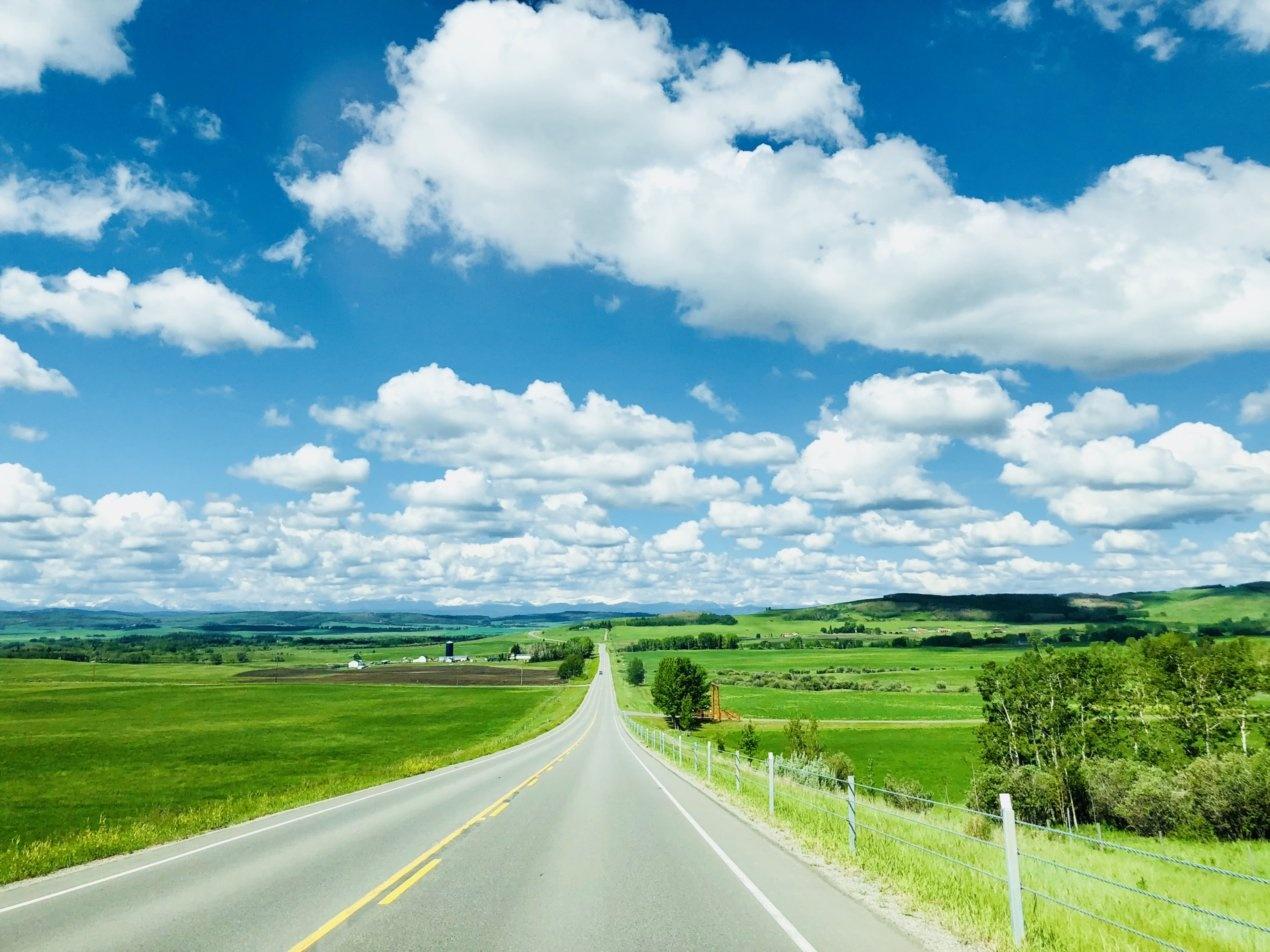 Highway Driving, Prairies style by Al Perreault