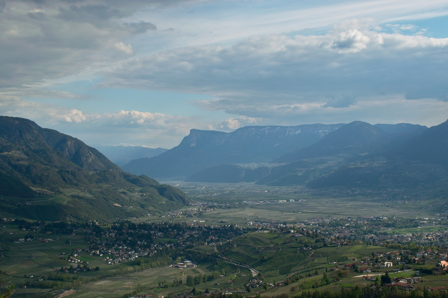 Meran and the Adige valley by Giulio Roman