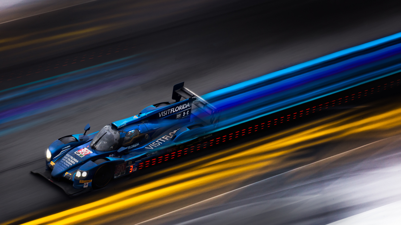 Prototype Racecar - Long Exposure Composite by Rob Woodham