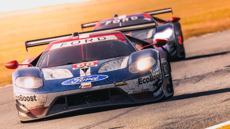 Ford GT Team by Rob Woodham