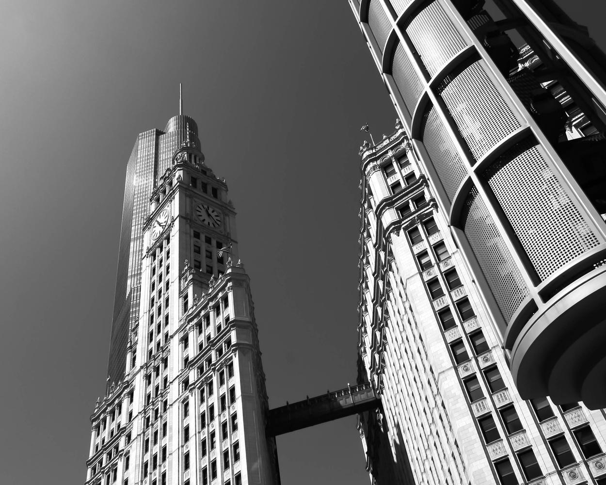 Wrigley Building - Chicago by Rob Woodham