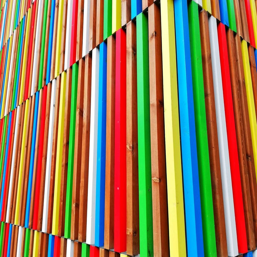 Wow those colours by Susan Leonard