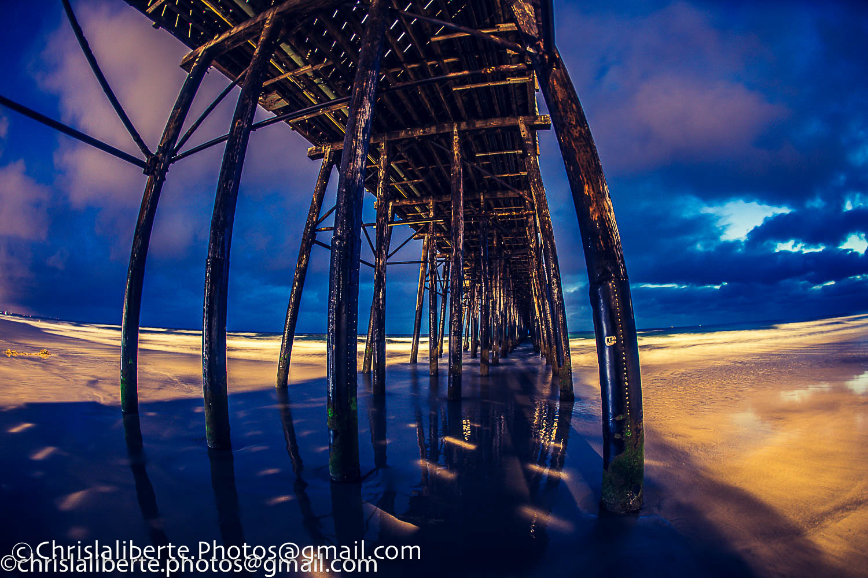 Oside Pier by Christopher Laliberte