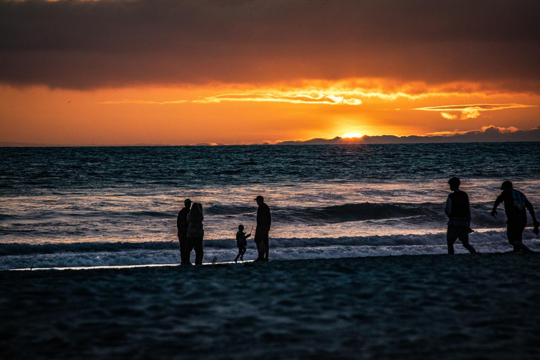 Oceanside sunset by Christopher Laliberte