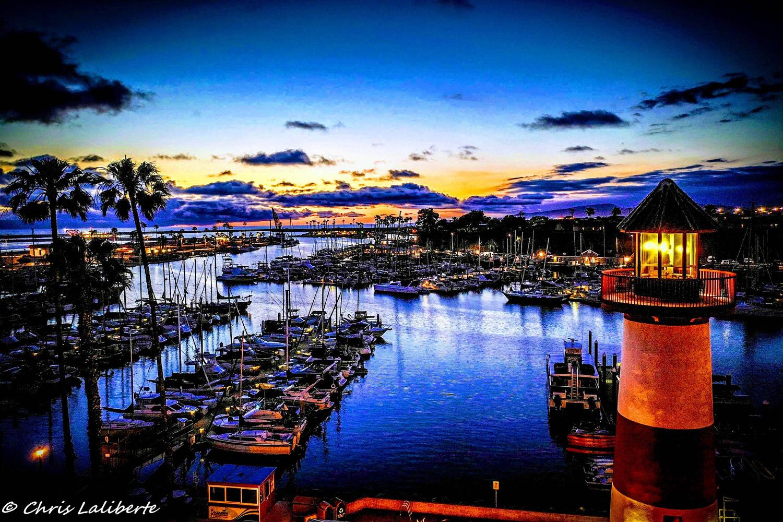 Oside Harbor Lighthouse by Christopher Laliberte