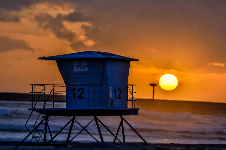 Ocenadie Sunset by Christopher Laliberte