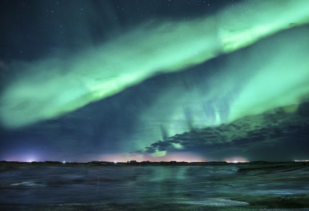 Northern Lights by Chris Schneider