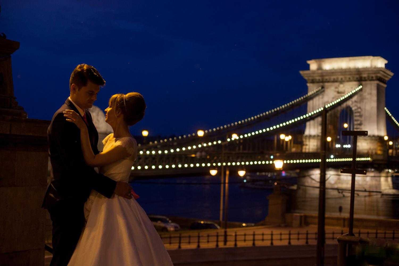 Wedding near the Bridge by Aniko Portrait Photography