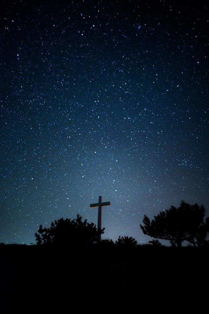 Cross &  stars by Masataka Inada