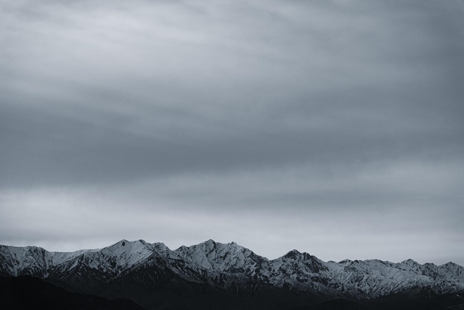 Silver sky by Masataka Inada