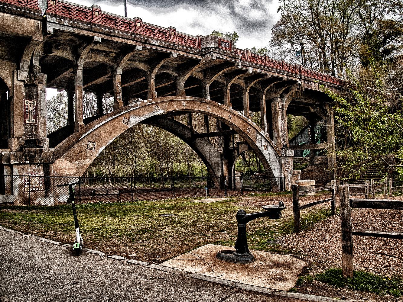 Old Bridge by Julio Calderon