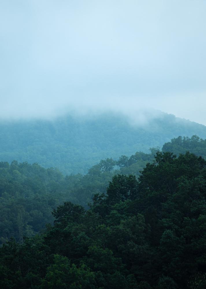 North Carolina Mountains by David Perman