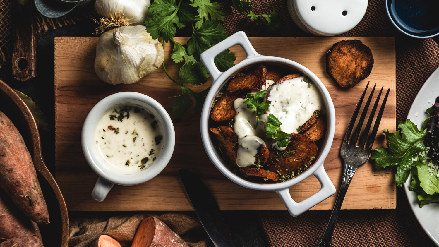 Fried Sweet Potatoes by David Perman