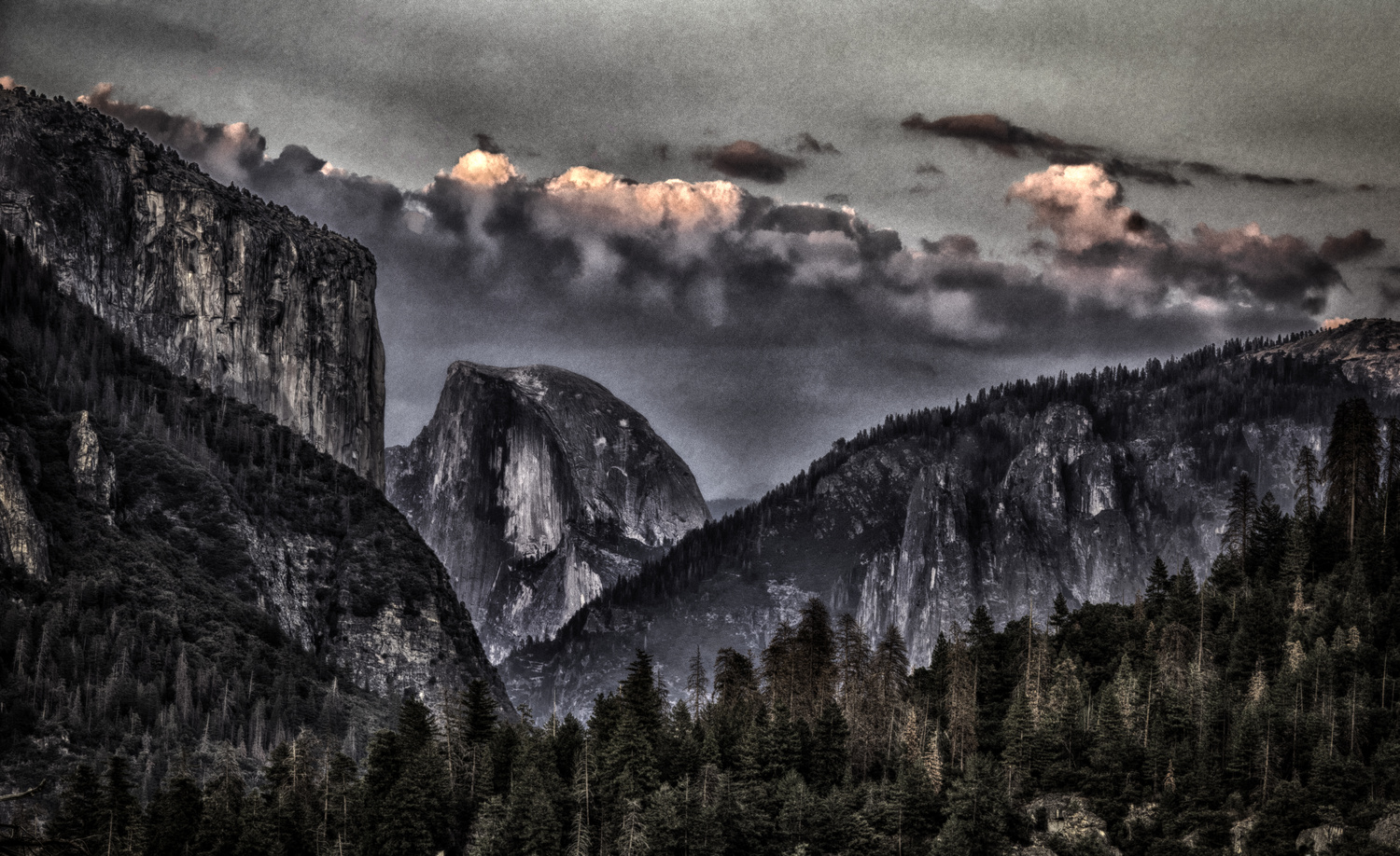 Yosemite From a Distance by Zach Deets