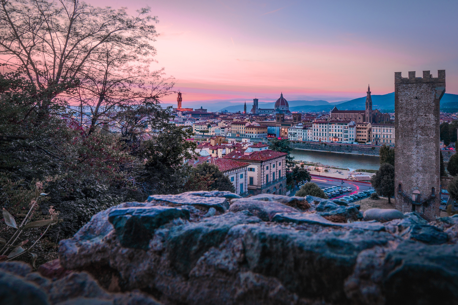 Florence Italy by Evgeni Nedelchev