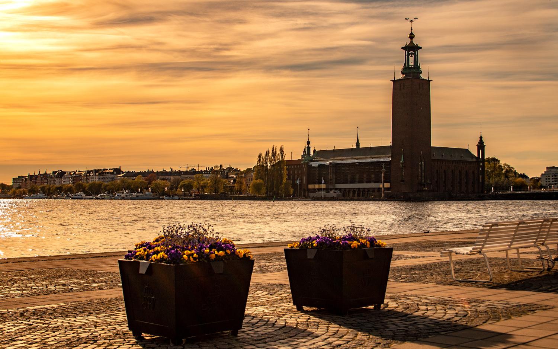 Stockholm City Hall by Sergey Kosarevsky