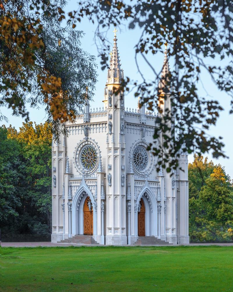 Gothic Chapel by Sergey Kosarevsky