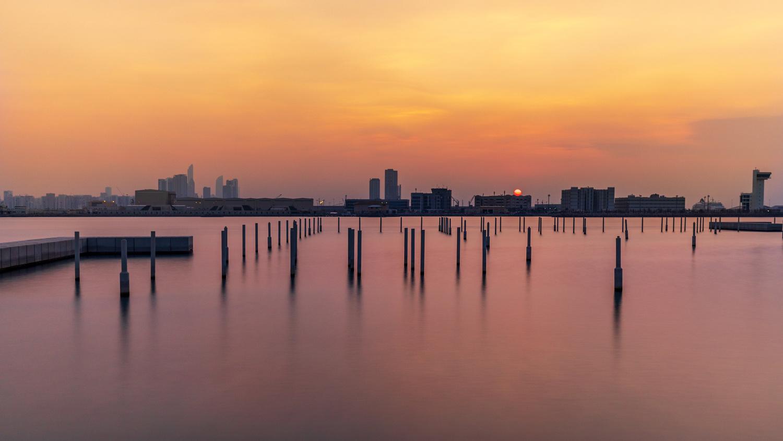 Abu Dhabi sunset by Sergey Kosarevsky