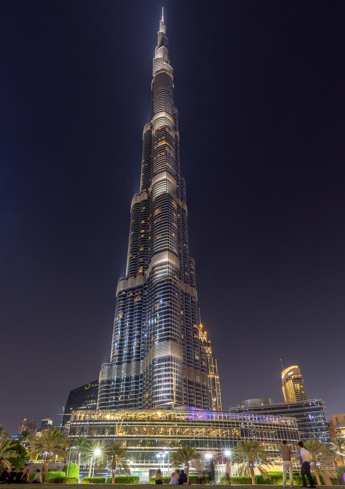 Burj Khalifa by Sergey Kosarevsky