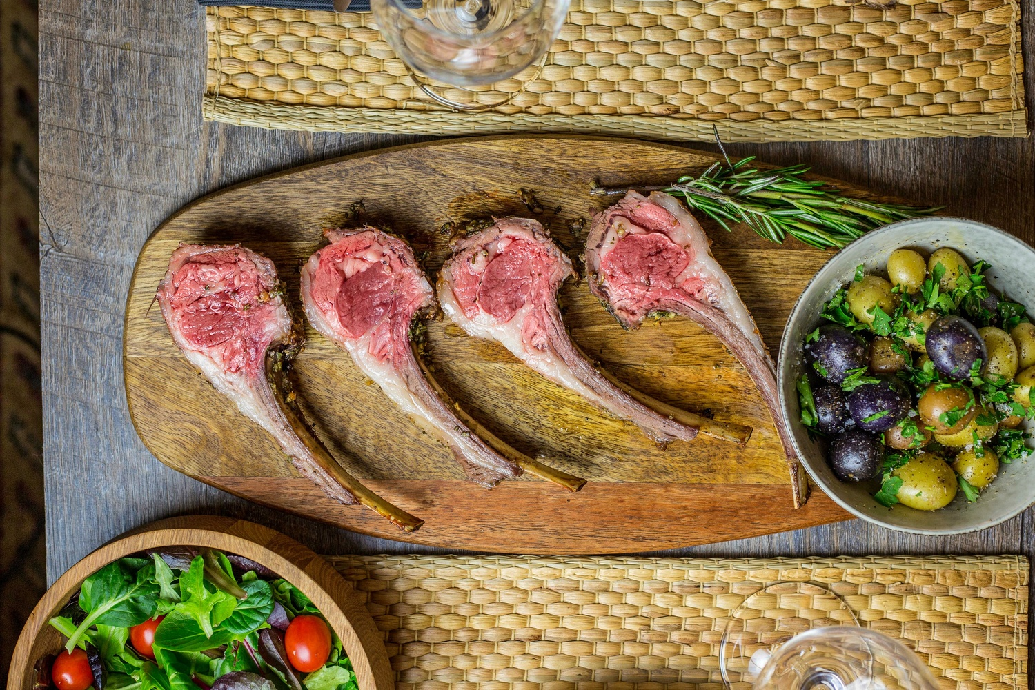 Lamb Chops for Lunch by Stacey Sprenz
