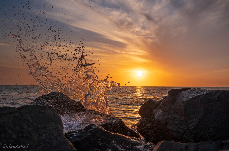 Calm Sunset! by KULANDAIVEL SUBRAMANIAN