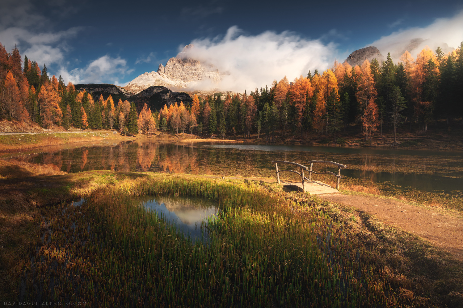 Fall Day in Antorno by David Aguilar